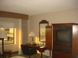 Lexington Hilton Room Picture